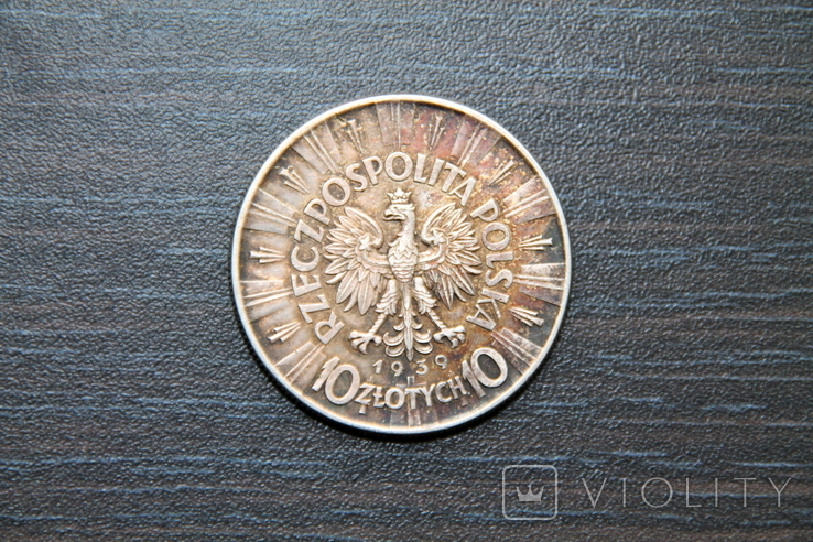 10 злотых 1939 год, фото №3