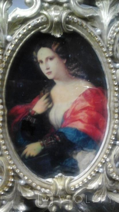 """Портрет """"Красавица"""", Пальма иль Веккио (1480-1528), Италия, фото №3"""