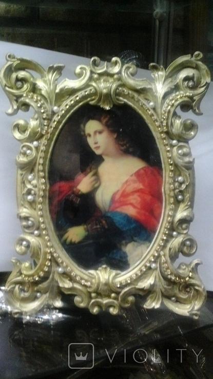 """Портрет """"Красавица"""", Пальма иль Веккио (1480-1528), Италия, фото №2"""