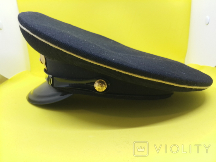 Суконная морская офицерский фуражка, фото №4