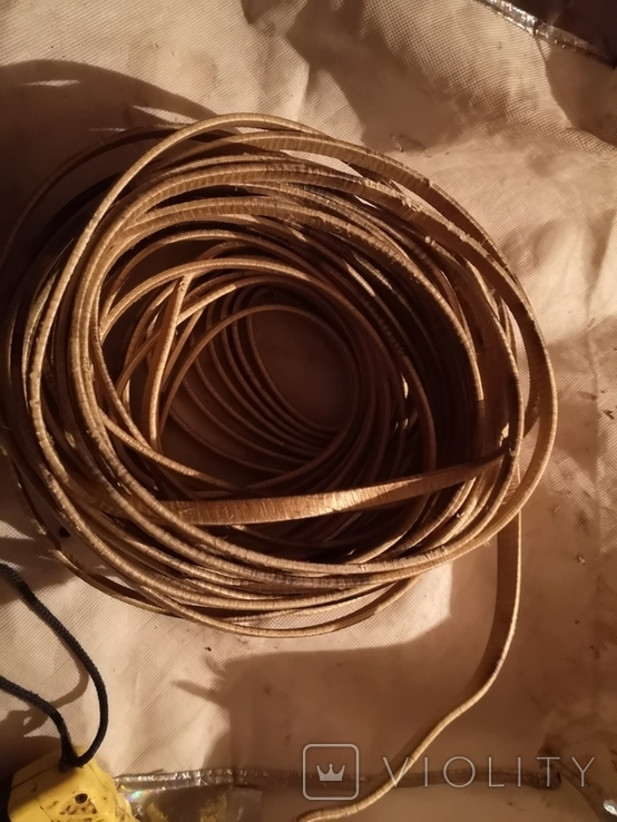 Проволка медная медь обмоточная для сварочного дросселя новая бухта, фото №6