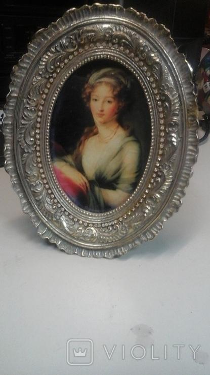 """Портрет """"Вел. Княжна Елизавета Алексеевна"""" Элизабет Виже-Лебрен (1755-1848), фото №2"""