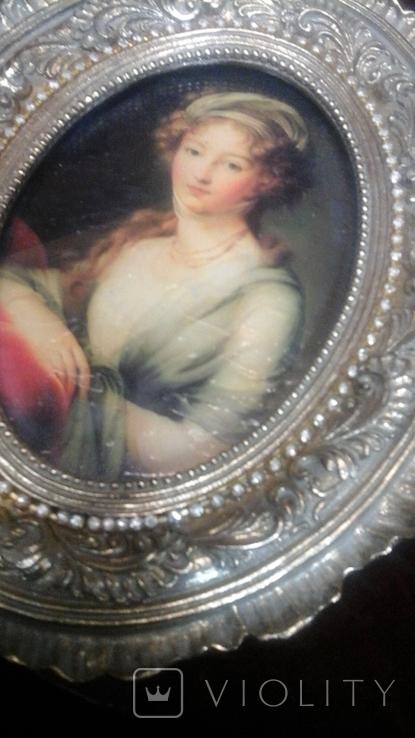 """Портрет """"Вел. Княжна Елизавета Алексеевна"""" Элизабет Виже-Лебрен (1755-1848), фото №3"""