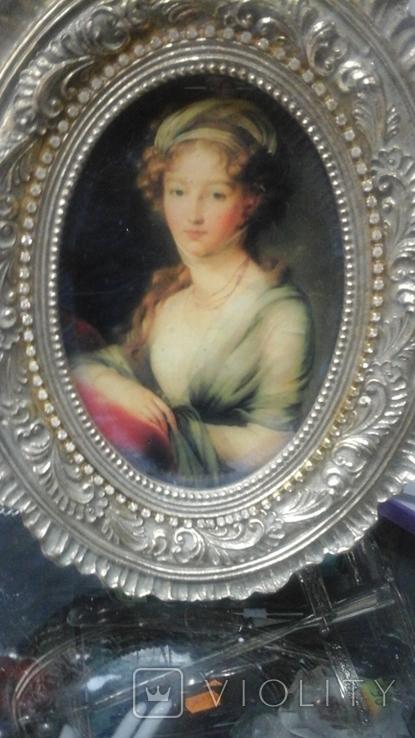 """Портрет """"Вел. Княжна Елизавета Алексеевна"""" Элизабет Виже-Лебрен (1755-1848), фото №5"""
