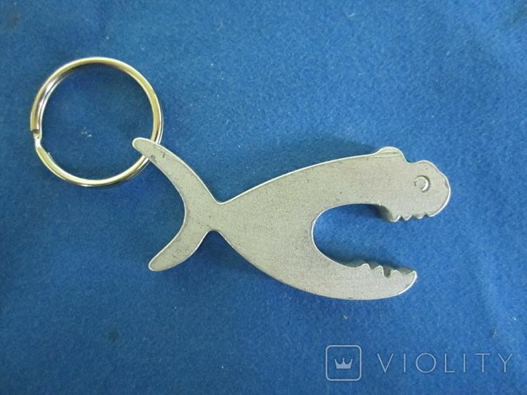 Брелок-открывашка Акула., фото №3