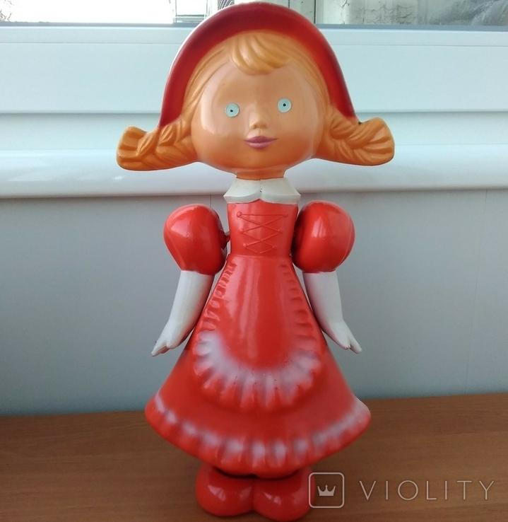 Кукла СССР Красная шапочка целлулоид, фото №2
