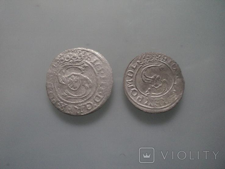 Солиды 1627 ,1597 гг., фото №3