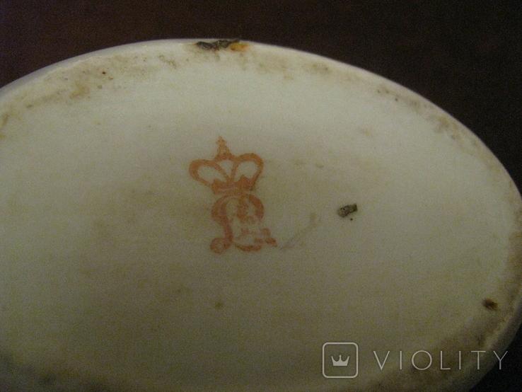 Шкатулка - миниатюра - фарфор - старая Германия., фото №6