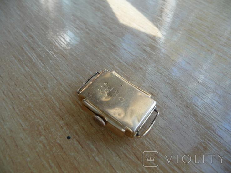 Часы женские золотые ANCRE-Швейцария 750 проба, фото №3