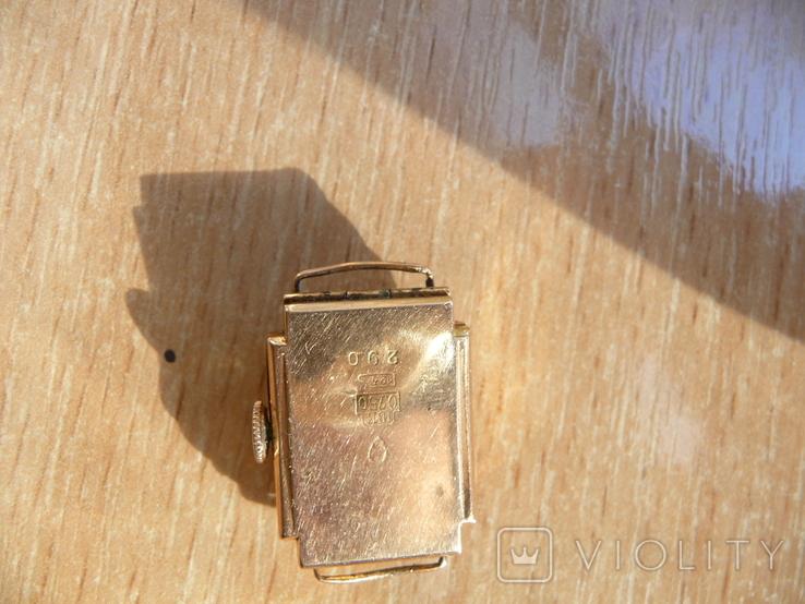 Часы женские золотые ANCRE-Швейцария 750 проба, фото №5