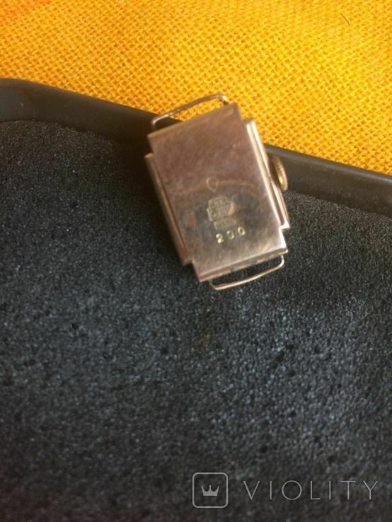 Часы женские золотые ANCRE-Швейцария 750 проба, фото №7