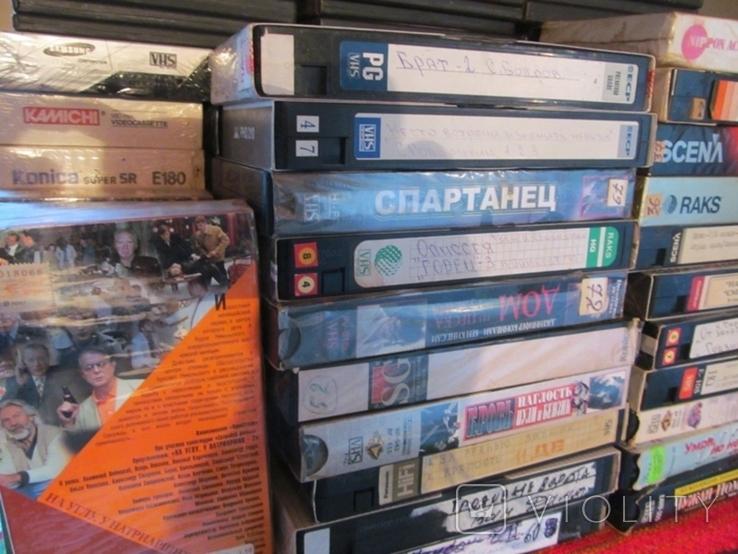 Видеокассеты. Коллекция 100 штук., фото №3