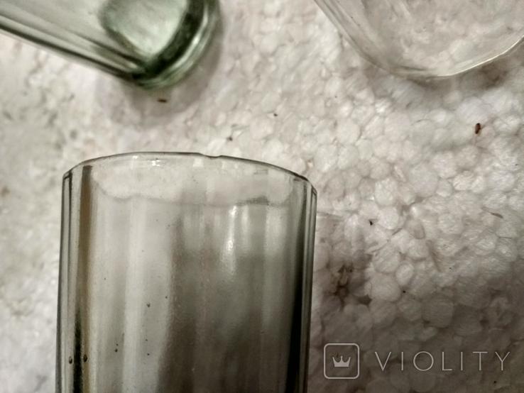 Граненые стаканы 3 шт., 100 мл., фото №5