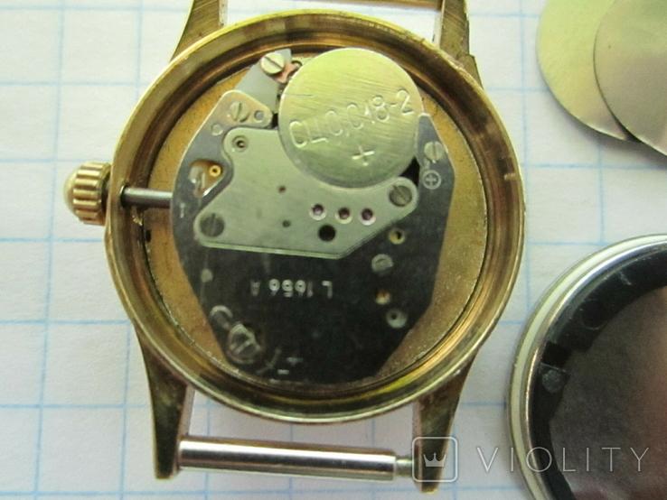 Часы Луч женские в позолоте., фото №12