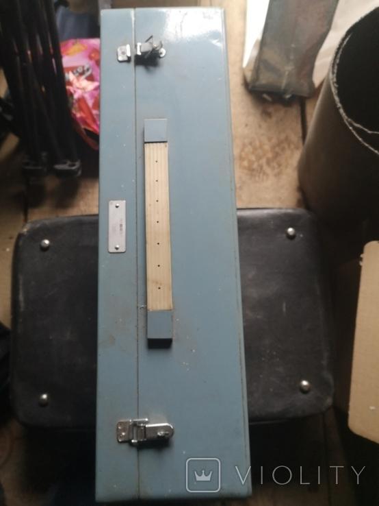 Портфель дипломат саквояж чемодан металлический алюминий для инструментов армейский, фото №2