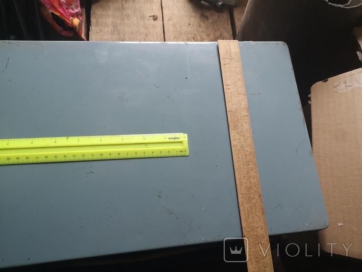 Портфель дипломат саквояж чемодан металлический алюминий для инструментов армейский, фото №3