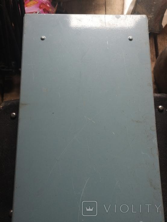 Портфель дипломат саквояж чемодан металлический алюминий для инструментов армейский, фото №7