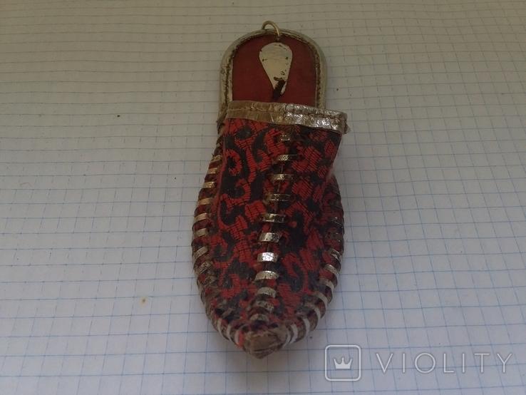 Башмачок сувенирный, фото №5