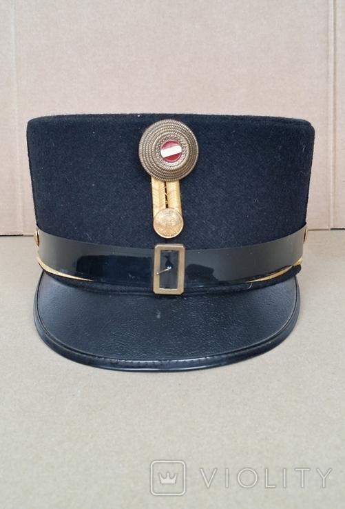 Шако офицера K.u.K. образца 1891 года период 1919-1925 год, фото №3
