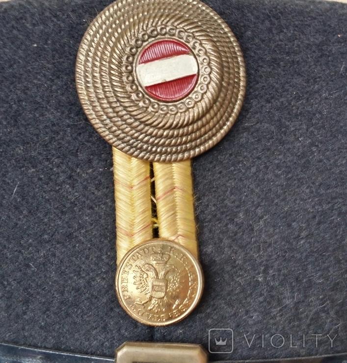 Шако офицера K.u.K. образца 1891 года период 1919-1925 год, фото №12