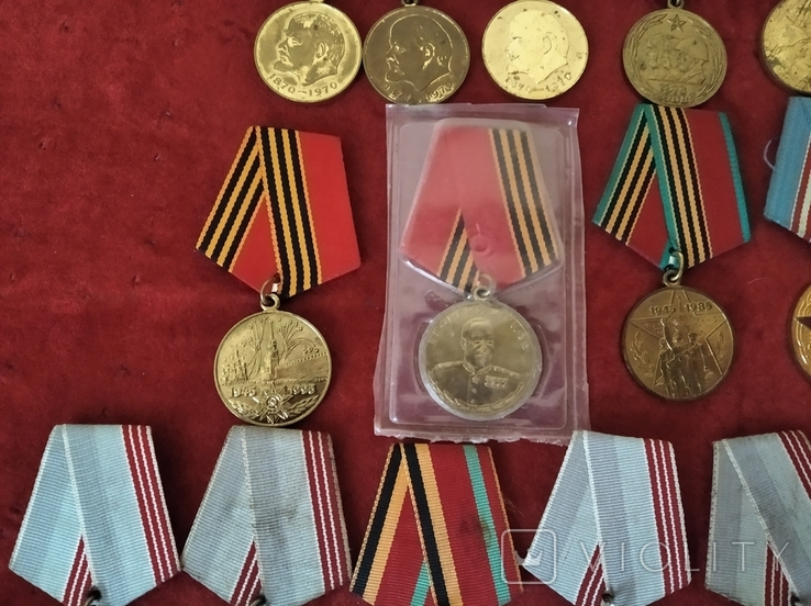 Медали СССР 25шт., фото №3