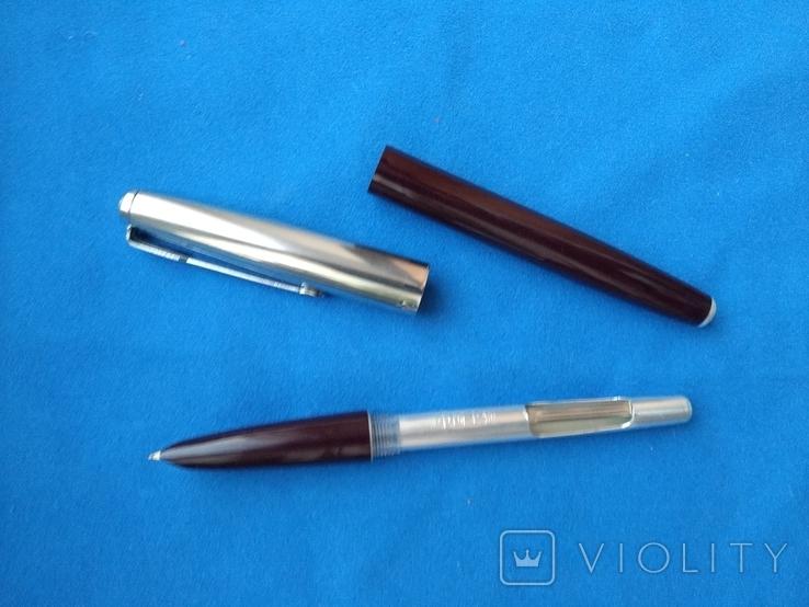 Чернильная ручка с тонким пером №2, фото №3