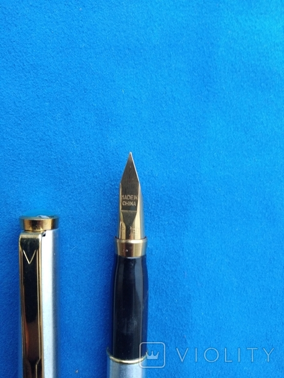 Чернильная ручка в металлическам корпусе №3, фото №3
