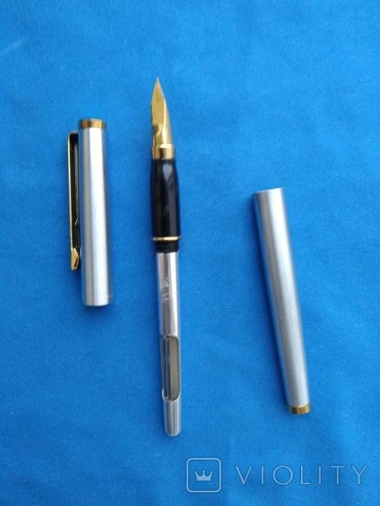 Чернильная ручка в металлическам корпусе №3, фото №4