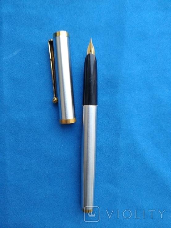 Чернильная ручка  в металлическам корпусе №2, фото №2