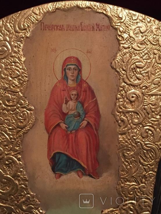 Икона Киево Печерской Богородицы, фото №4
