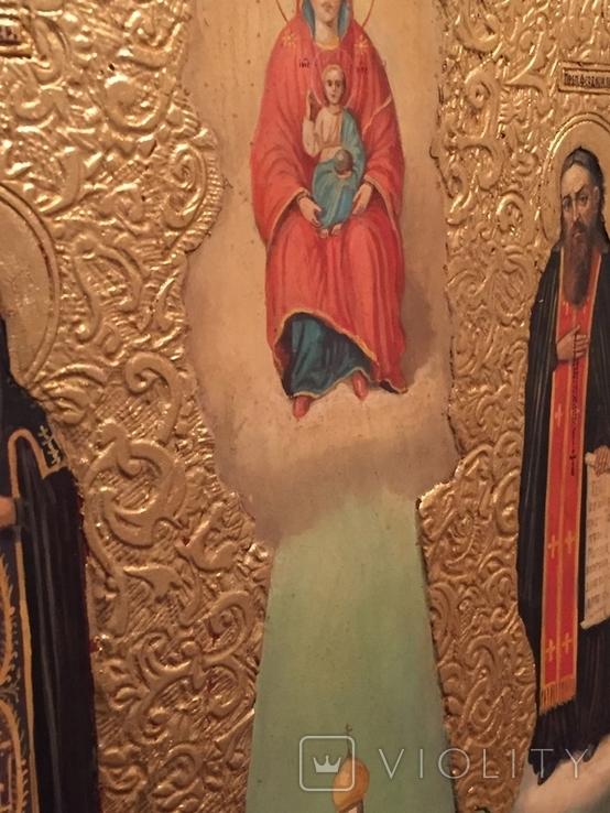 Икона Киево Печерской Богородицы, фото №11