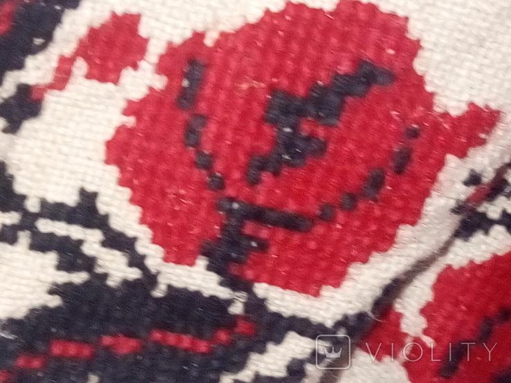 Старинная льняная рубашка с вышивкой, фото №8