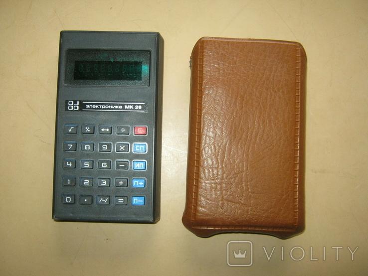 Калькулятор Электроника МК-26 СССР, фото №2