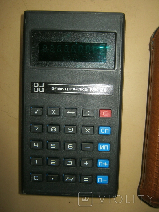 Калькулятор Электроника МК-26 СССР, фото №3