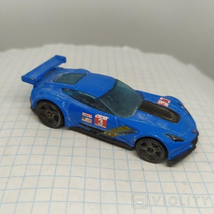 Машинка Hot Weels. Corvette C7.R (9.20), фото №2