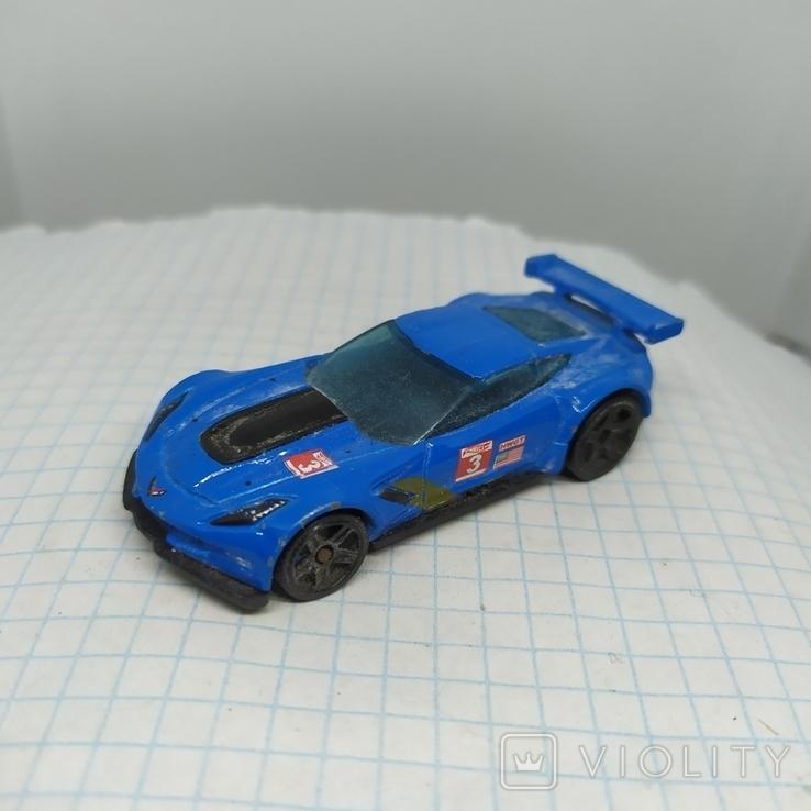 Машинка Hot Weels. Corvette C7.R (9.20), фото №4