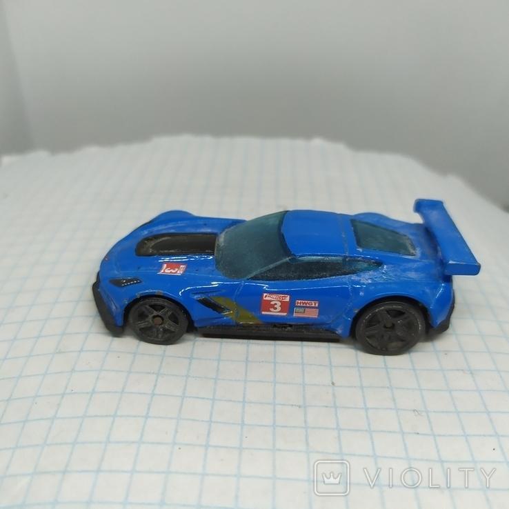 Машинка Hot Weels. Corvette C7.R (9.20), фото №5