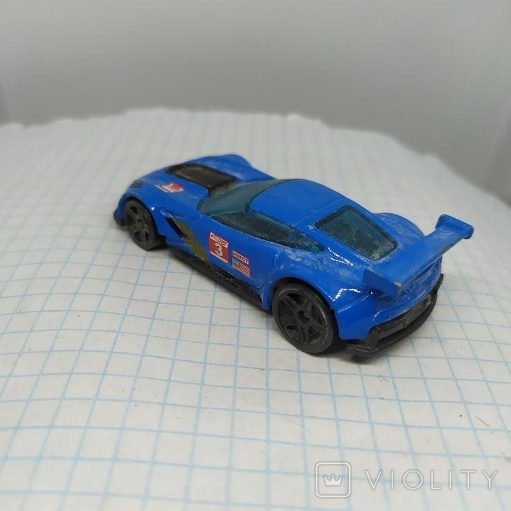 Машинка Hot Weels. Corvette C7.R (9.20), фото №6