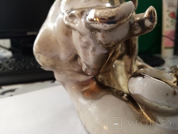 Статуэтка бык 50 годи, фото №8