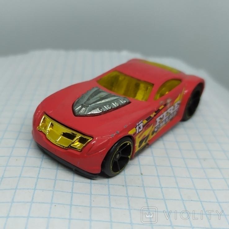 Машинка 2003 Пожарная. Hot Weels. (9.20), фото №4
