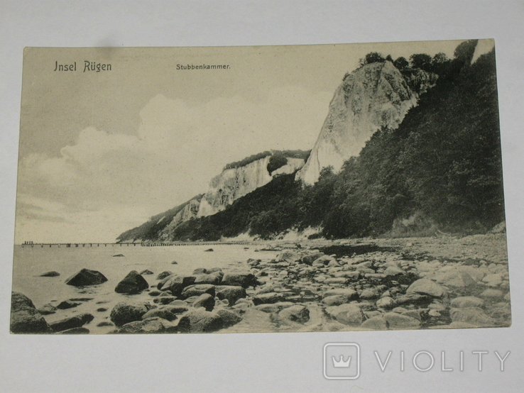 Открытка 1900-1920 годы. № 175  Jnsel Rugen, фото №2