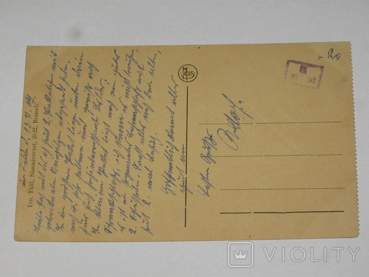 Открытка 1900-1920 годы. № 176  Gent, фото №4