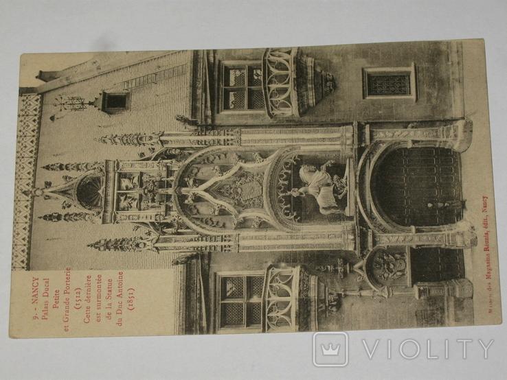 Открытка 1900-1920 годы. № 178  Nancy, фото №3