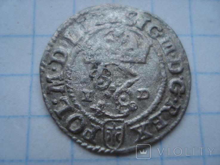 Солід 1588р. Сигізмунд ІІІ Ваза. Олькуш, фото №2