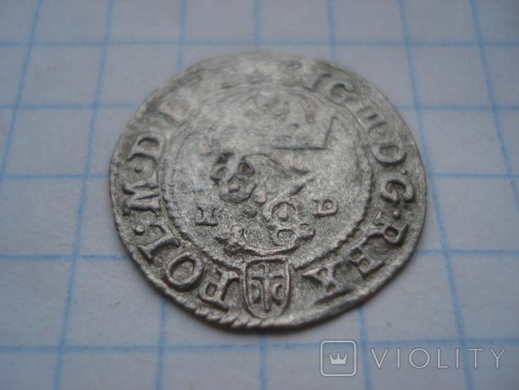 Солід 1588р. Сигізмунд ІІІ Ваза. Олькуш, фото №4