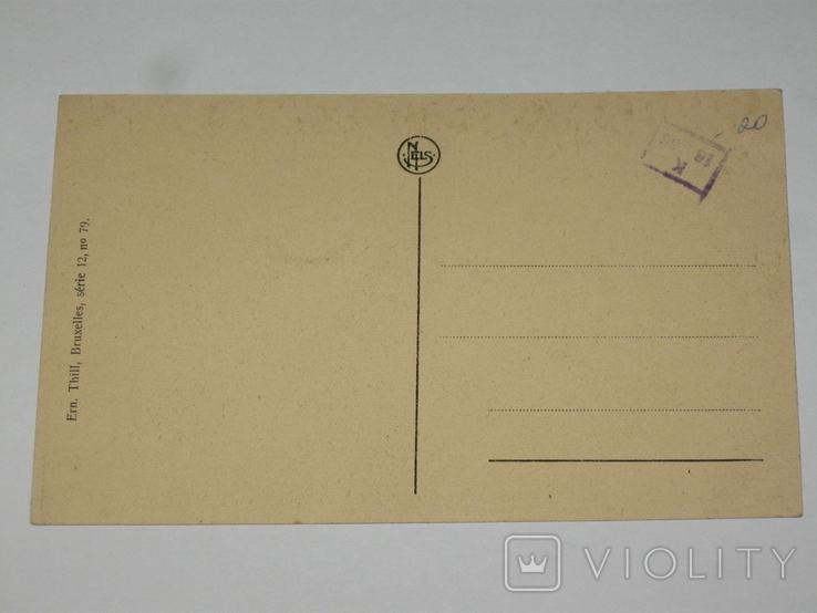 Открытка 1900-1920 годы. № 189 Bruges, фото №4