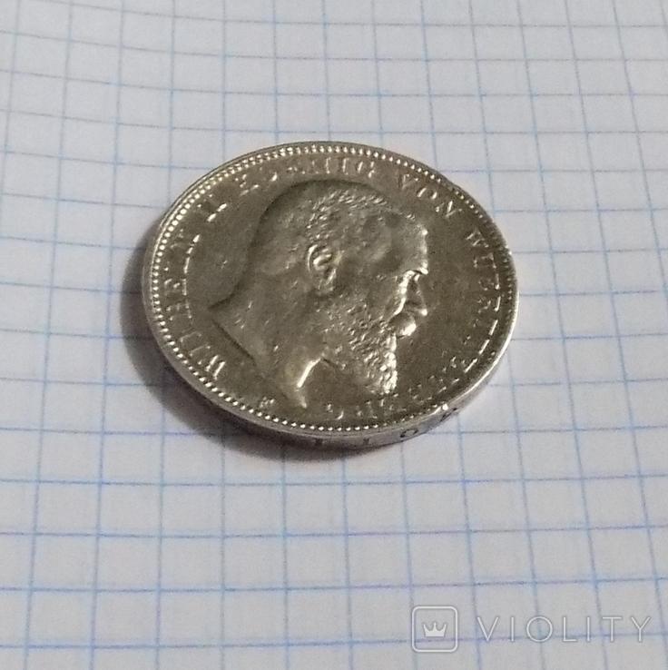 3 марки 1908 г. Вюртемберг., фото №4