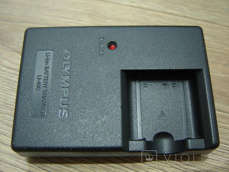 Зарядное Olympus LI-40C, фото №9