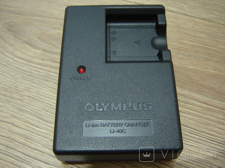 Зарядное Olympus LI-40C, фото №2
