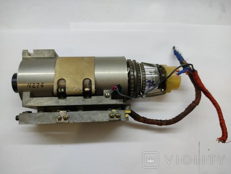 Объектив Индустар 50 2 с видеокамерой от камеры видеонаблюдения времён СССР, фото №13